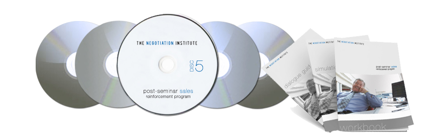 Five-Disc Post-Seminar Sales Audio Program