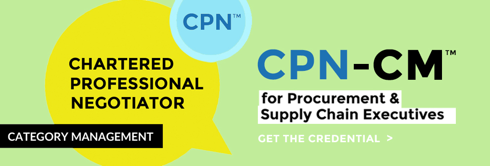 Supply Category Management Certification Program