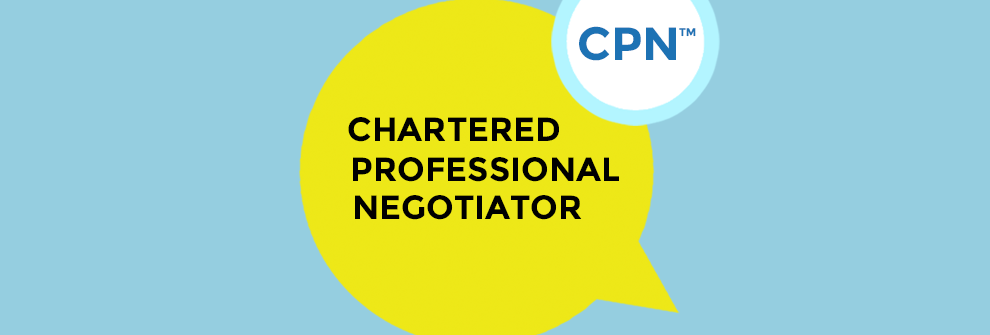 CPN Chartered Professional Negotiator - Certification Program